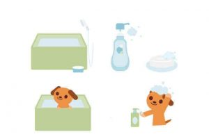 犬用シャンプー シャワー